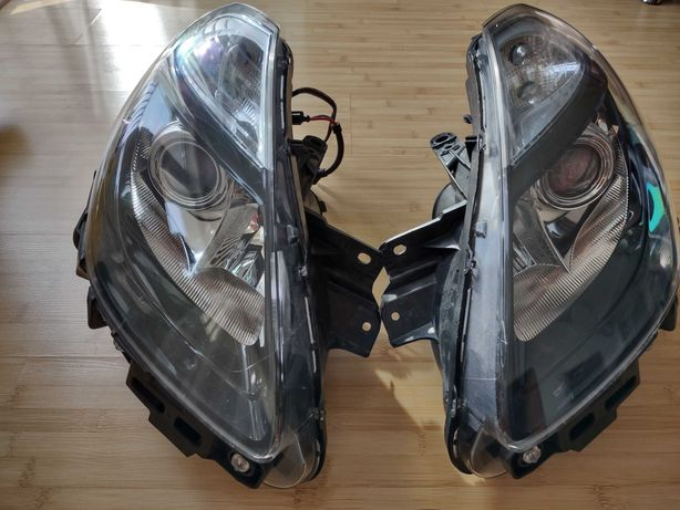 Reflektory Renault Clio III soczewka