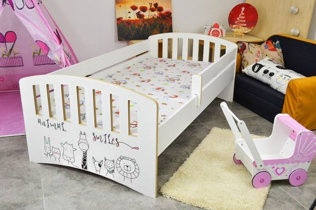 Łóżko dla dziecka Happy + z materacem