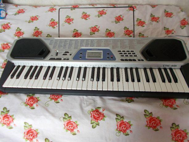 CASIO CTK-481 MIDI organy pełnowymiarowe keyboard 5 oktawowe
