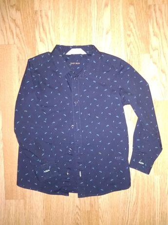 Рубашка котонова H&M, 116см