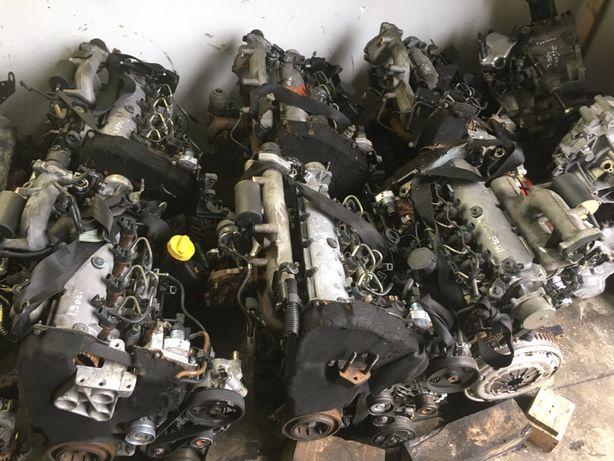 Мотор/двигун/двигатель Renault trafic/megan/laguna/carisma/scenic