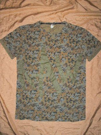 Брендовая летняя футболка камуфляж G-Star