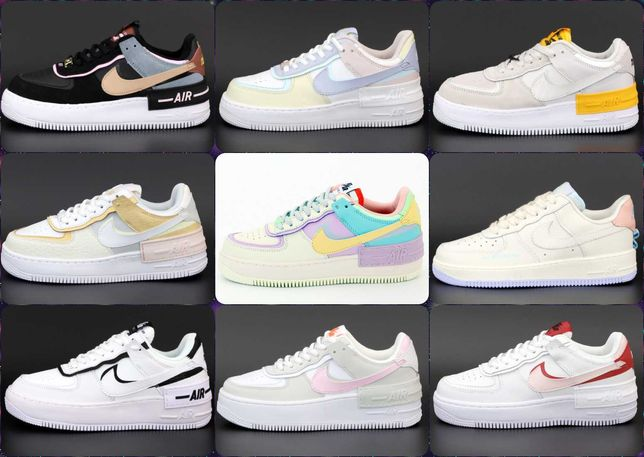 Женскаие кроссовки Nike Air Force 1 Low. ВЫБОР ЦВЕТА.