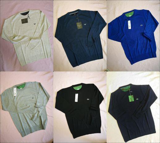 Sweterek męski Emporio Armani Lacoste różne kolory M-3XL nowość