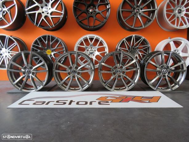 Jantes Look Volkswagen Golf R Pretoria 17 x 7.5 et45 5x112 Hyperblack
