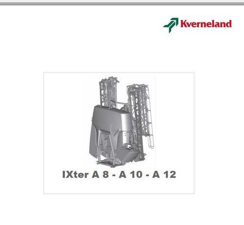 Instrukcja obsługi opryskiwacza IX tera A8, A10, A12