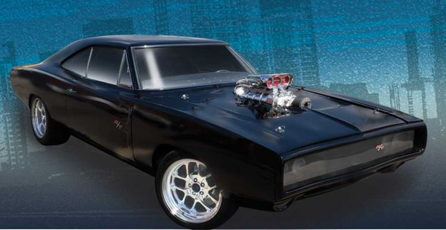 Modelismo - carro dodge charger r/t