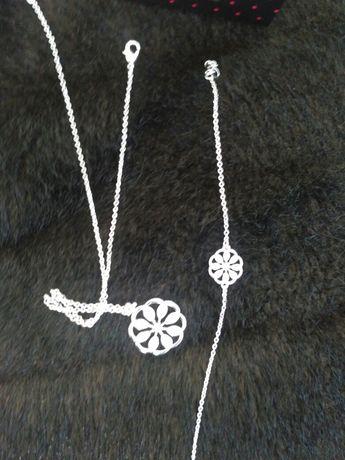 Biżuteria,zestaw 3 elementowy nowy ,wysylka gratis
