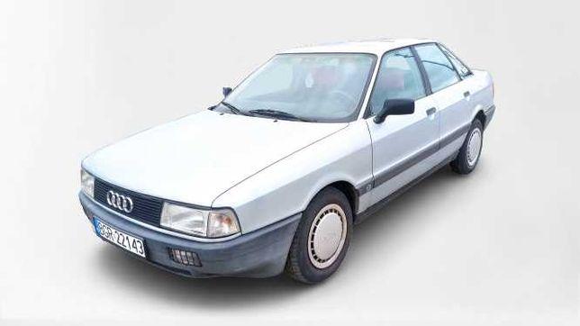 AUDI 80 B3 z 1989 roku ! 1.8 benz.Gaz, sedan, klasyk zabytek