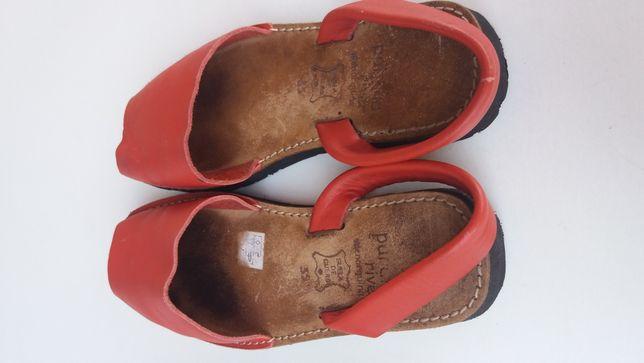 Sandálias de menina 35