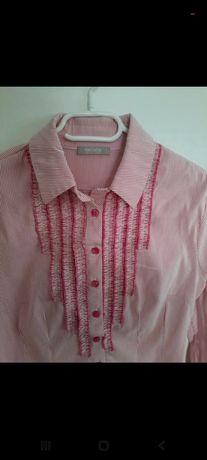 Koszula Orsay paski różowa 36 S cudna