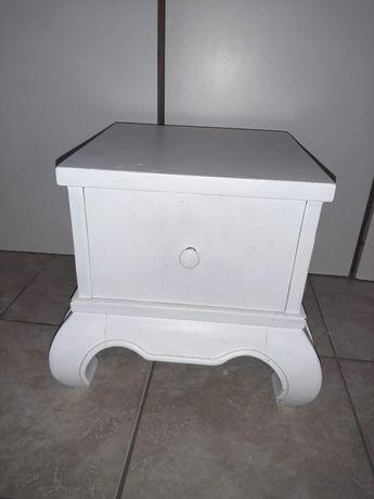 Biały stolik szafka nowa cena