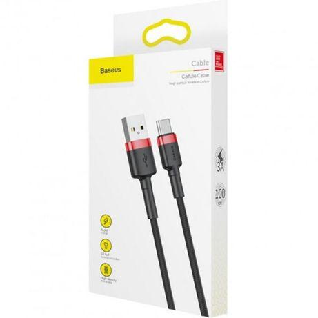 USB Cable Baseus Cafule Type-C (CATKLF-B91) 1m