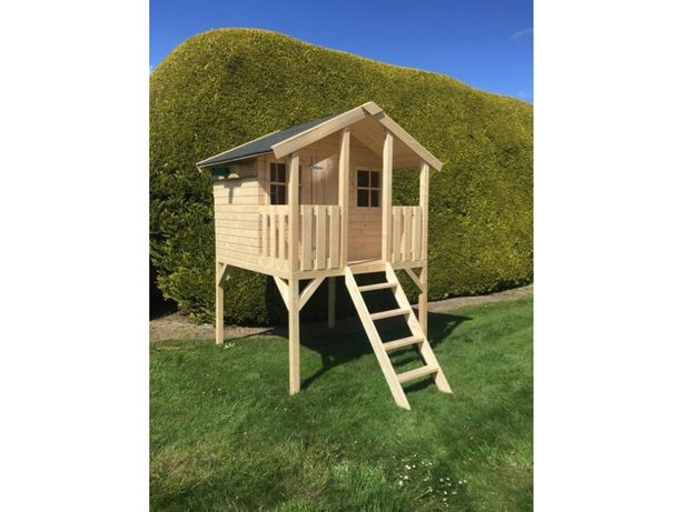 Domek drewniany dla dzieci ogród z drewna
