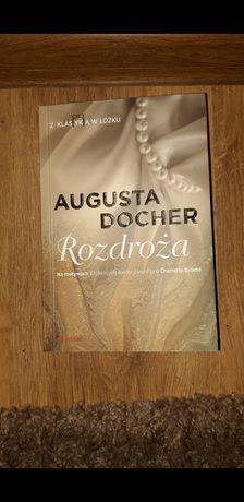 Książka Rozdroża Augusta Docher z autografem