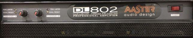 Amplificador Master Audio DL802