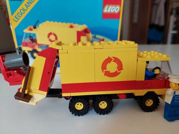 Lego klocki legoland 6693 śmieciarka 1989