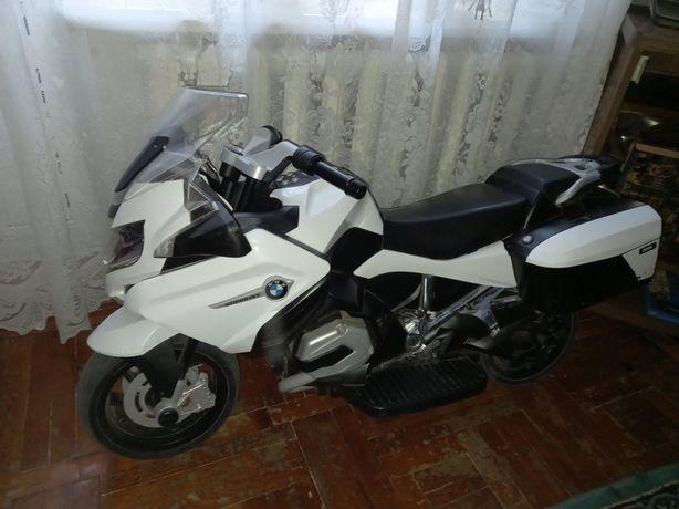 Мотоцикл большой на аккумуляторе
