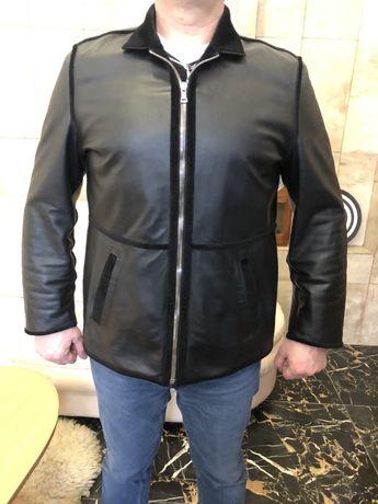 Кожаная куртка PRADA оригинал