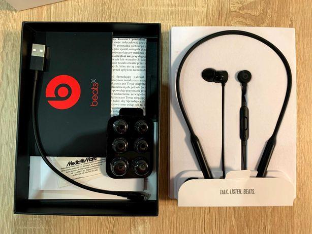 Słuchawki bezprzewodowe Apple BeatsX bluetooth dokanałowe beats x bdb