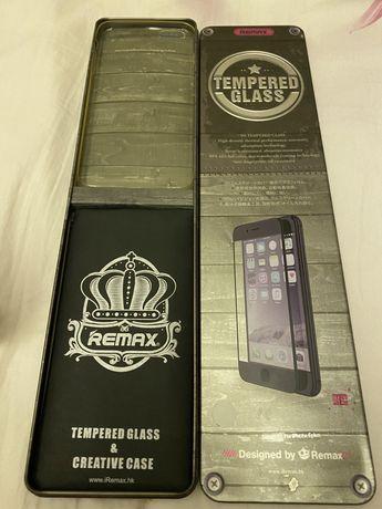 Защитное стекло на на айфон 6+