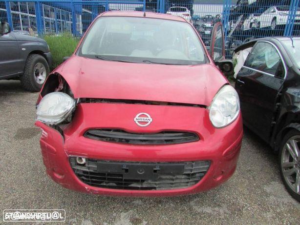 Peças Nissan Micra 1.2 do ano 2010 (HR12DE)