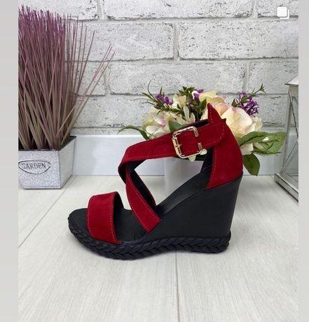 Женская обувь натуральная замша /кожа