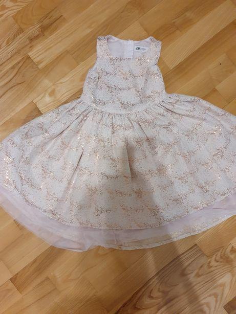 Sukienka H&M roz. 122
