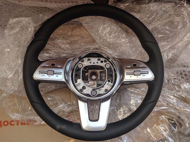 Руль Mercedes W213 W205 C118 C257 W247 W157 W257 W253 W167 AMG brabus