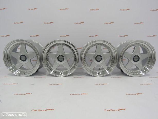 Jantes Dare F5 17 x 8.5 et35 5x100 / 5x120 Silver