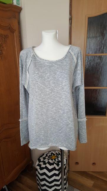 Szara bluza M długa