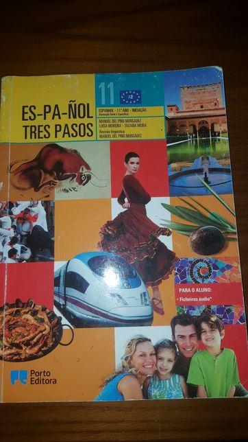 Tres Pasos-Espanhol 11° ano Manual e Livro de Exercícios