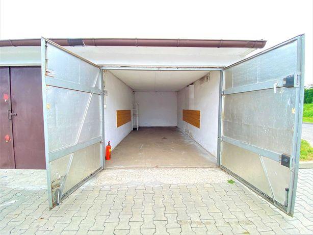 Garaż Murowany Chorzów Amelung Antywłamaniowa Brama Docieplony