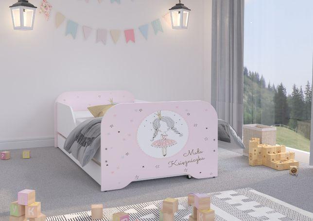 Łóżko MIKI dziecięce 140x70 + materac + szuflada !