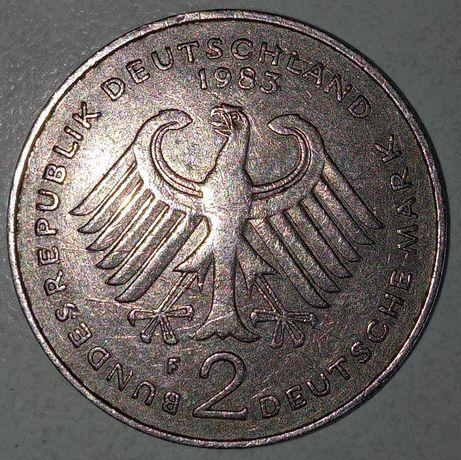 2 Марки1983г, 50коп 1АЕк 1995г,1гривна 2018 г.раскол,монеты мира 76 шт
