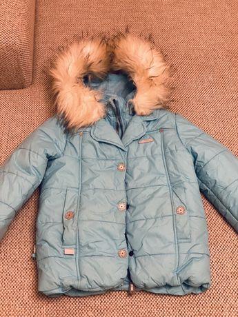 Продам зимнюю куртку Lenne 110