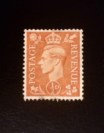 Stary znaczek pocztowy Anglia 1941r.