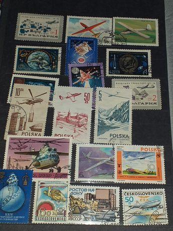 Znaczki pocztowe kolekcjonerskie z różnych zakątków świata