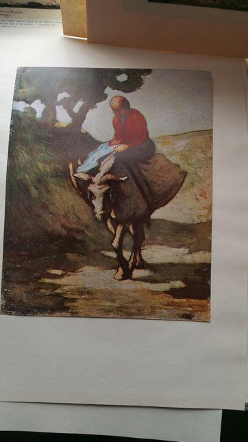 Honore Daumier Prints , reproduções muito antigos