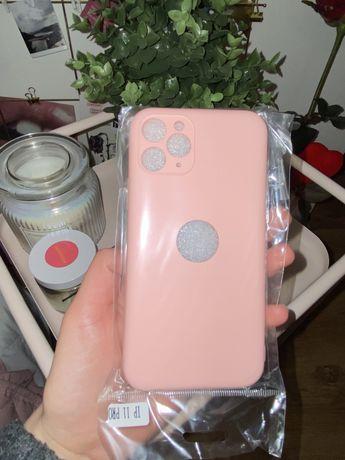 NOWE case etui iphone 11 Pro pudrowy róż apple ochrona aparatu