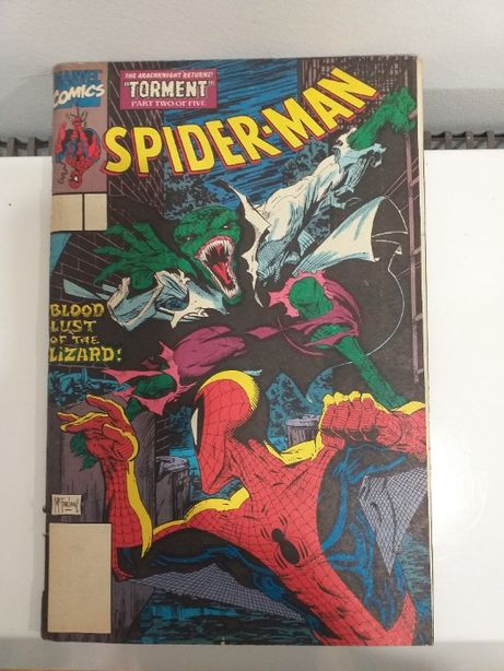 Marvel Torment part Spider Man Komiks 2 of 5/90