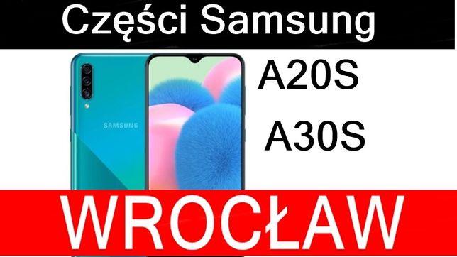 Naprawa Wyświetlacz Ekran LCD SAMSUNG A20S A30S Serwis Wrocław