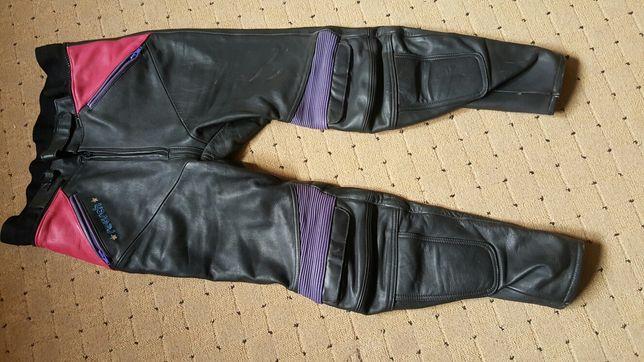 Spodnie motocyklowe sköra rozmiar 52