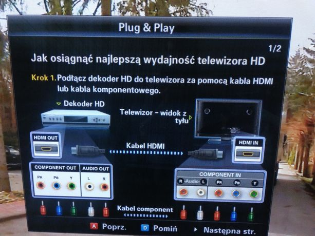 Samsung telewizor 50cali plazmowy
