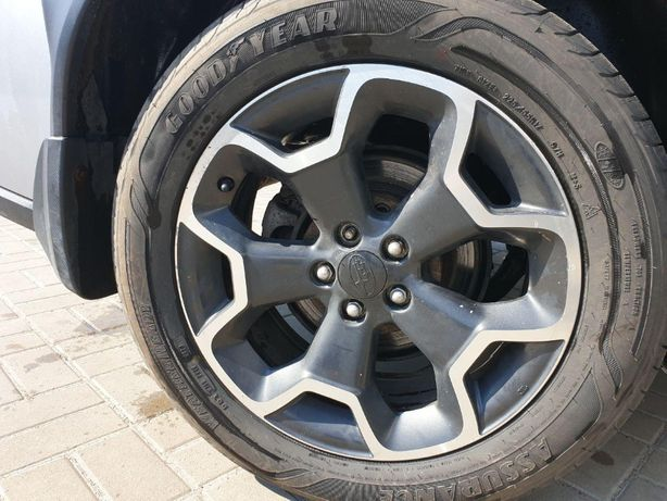 Диски R17 Subaru XV, Crosstrek, диск, титаны, разборка