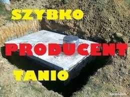 Zbiorniki Betonowy na gnojówkę Solidne Szambo 10000l Betonowe odchody