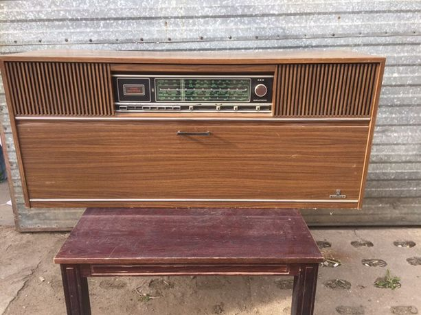Zabytkowe radio grundig