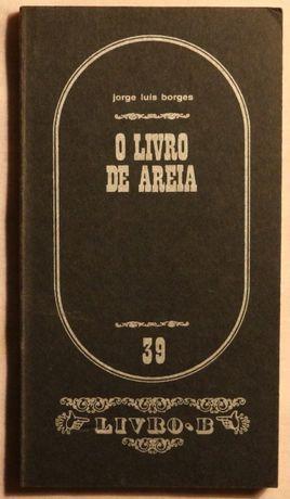 O Livro de Areia – Jorge Luís Borges - col. Livro.B