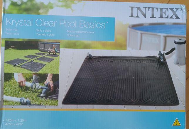 Mata solarna INTEX darmowe podgrzewanie wody w basenie.