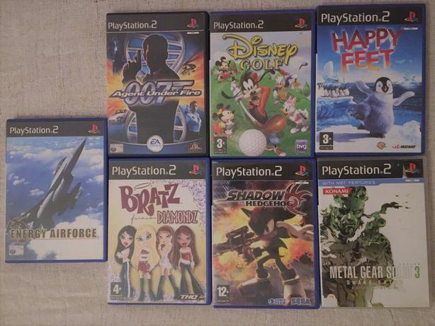 Jogos para a PlayStation2